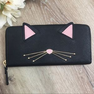 Kate Spade New York Cat's Meow Lindsey Wallet